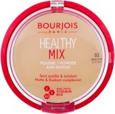 Bourjois Healthy Mix Poeder - 02 Light Beige - Licht beige