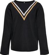 KIDS ONLY Meisjes T-Shirt - Black - Maat 158/164