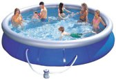 Bestway Fast Set Pool Zwembad - 457 x 91 cm