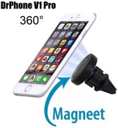 DrPhone - V1 Pro - Draaibare Telefoonhouder | Auto Houder Ventilatie Rooster | Extra Sterke Magneet | iPhone