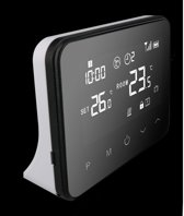 Optima W Exclusive, wifi en RF thermostaat voor elektrische- en conventionele verwarmingsinstallaties