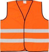 Veiligheidshesje - Reflecterend - Fluo oranje - Maat Large