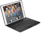 iPad mini 4 Toetsenbord Hoesje - CaseBoutique Bluetooth Keyboard Case - Zwart - QWERTY indeling