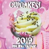 Cupcakes! 2019 Mini Wall Calendar