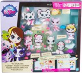 Littlest Pet Shop - Speelfigurenset 4 stuks