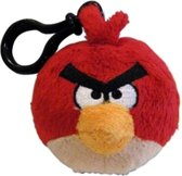 Single Angry Birds Back Pack Clip Plush (RED) /Toys