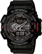 Casio G-Shock Style Rotary Switch horloge GA-400-1BER - Horloge - 52 mm - Kunststof - Zwart
