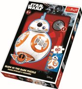 Glow in the Dark 60 pcs - BB-8 is coming / Star Wars Legpuzzel