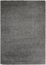 Hoogpolig tapijt grijs 30 mm - 160 x 230 cm