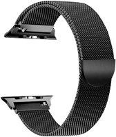 Apple Watch Series 5 (40 mm) Bandje - Milanees Bandje met Magneetsluiting - iCall - Zwart