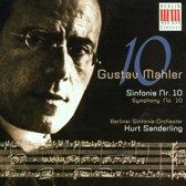 Mahler: Symphony no 10 / Kurt Sanderling, Berlin Sinfonie-Orchester