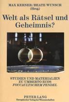 Welt ALS Raetsel Und Geheimnis?