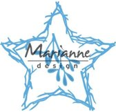 Marianne Design Creatable Mal Natuur ster LR0551 12x16 centimeter