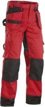 Blaklader Werkbroeken met kniestukken Rood/ZwartNL:46 BE:40