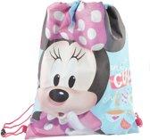 Tea Cup Minnie Mouse trekkoord tas