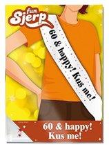 Sjerp 60 & happy! Kus me!