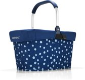 Reisenthel Carrybag Boodschappenmand - Polyester - 22L - Spots Navy Blauw