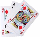 Extra groot kaartspel A4 formaat