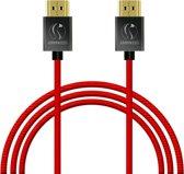 HDMI kabel 5 meter nylon woven flexibel