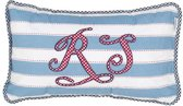 Baltazar cushion R7 Blue 035*060
