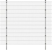 vidaXL Dubbelstaafmat 2008 x 2230 mm 12 m zilver 6 stuks