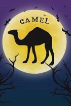 Camel Notebook Halloween Journal
