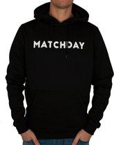 FC Eleven - Matchday Hoodie – Zwart – XXL