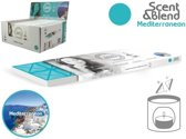 Scent&Blend Wax Melt Navulling - Méditerranée