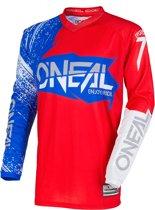 O'Neal Crossshirt Element Burnout Red/White/Blue-XXL