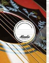 6 String Blank Guitar Tablature Notebook - Acoustic Shine
