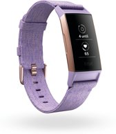 Fitbit Charge 3 special edition - activity tracker - lavender woven