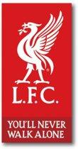 Liverpool FC - Strandlaken - 70x140 cm - Red