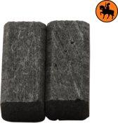 Koolborstelset voor Black & Decker frees/zaag DN10 - 6x6x12,5mm