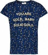 The New Meisjes t-shirts & polos The New T-shirt km zwart 170/176