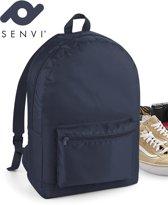 Senvi Rugzak-Backpack Kleur Blauw 20 Liter Waterbestendig Stof