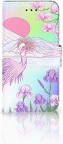 iPhone X | Xs Bookcase met ruimte voor pasjes Bird
