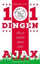 Boek cover 101 dingen die je weten moet over Ajax van Menno Pot (Onbekend)