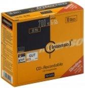 CD-R Intenso 700MB 10pcs Slimcase