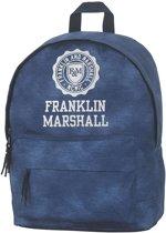 Franklin & Marshall Campus Rugzak - Vintage Blue