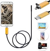 Endoscope 7mm Camera USB OTG voor Android 1 Meter