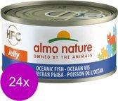 Almo Nature - Oceaan - Kattenvoer - 24 x 70 g