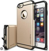Rearth Ringke Max® iPhone 6 Royal Gold Maximale Bescherming + Ringke Max HD (High Definition) iPhone 6 Screenprotector Schermfolie