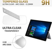 qMust - Microsoft Surface Pro 4 - Tempered Glass Protector - Arc Edge