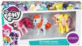 My little Pony Gummen Set 3D – 5cm | Kindergummen en Schoolspullen | Tekenspullen | Eraser