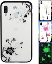 BackCover Magic Glass voor Samsung A40 Bloem1