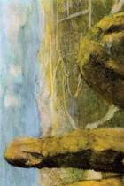 ''landscape'' by Edgar Degas