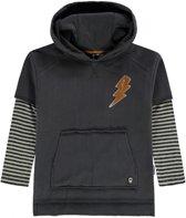 Tumble 'n Dry Jongens Sweater Odion - Graphite Grey - Maat 110
