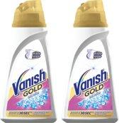 Vanish Gold Oxi Action - vlekverwijderaar witte was - 2 x 940 ml