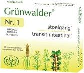 Grunwalder nr.1 Stoelgang - 60 tabletten - Voedingssupplement