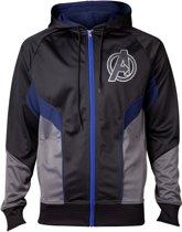 Avengers: Infinity War - Hologram Avengers Logo Men's Hoodie - 2XL